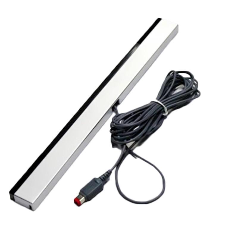 Nueva barra de sensores con cable para Nintendo WII WU consola de juegos receptor del regulador del juego del sensor cable de señal de la barra del sensor receptor para WiiU
