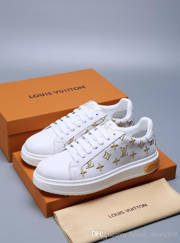 2020 nuevos hombres de la SS casuales zapatillas de deporte de moda zapatillas de deporte de los hombres de alta calidad zapatos de plataforma de diseño de zapatos casuales de cuero de lujo