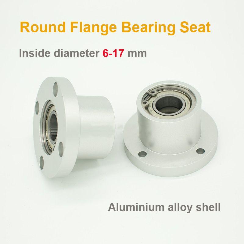Roulement des composants de siège avec flambage Anneau double roulement Siège rond Bride coussinet