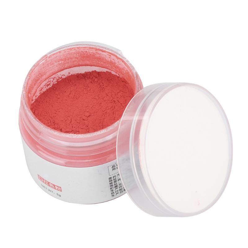 5g naturale cosmetico del rossetto della polvere del pigmento delle labbra cosmetico di trucco fai da te colore trucco della polvere dell'ombretto Sapone Nail Rossetto