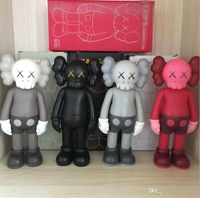 HOT 20CM 0.3KG Originalfake KAWS 도우미는 원래 상자 액션 피겨 모델 장식 장난감 아이 선물을 8inches