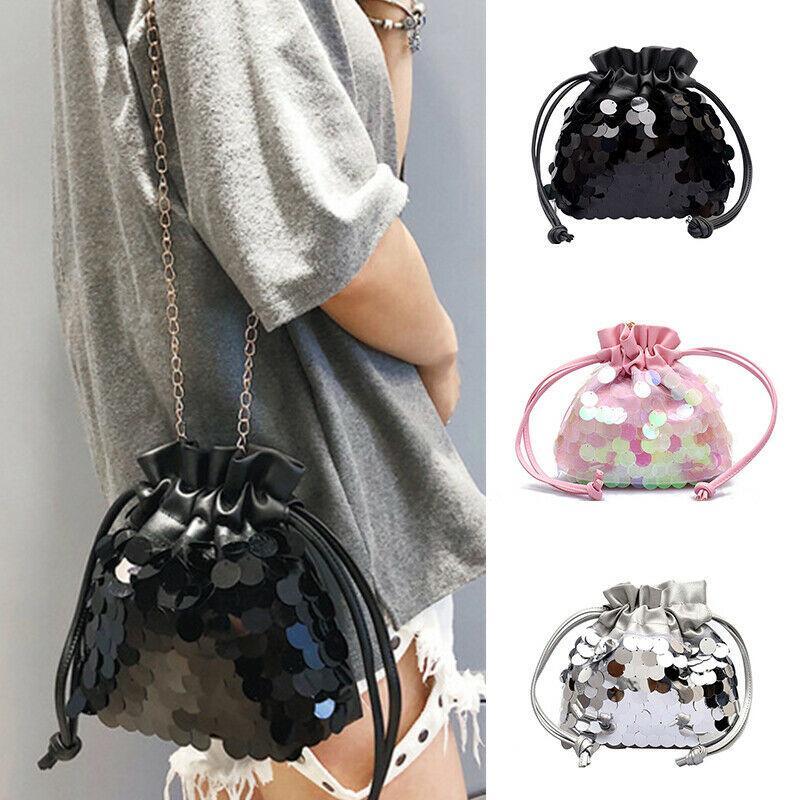 Tote Kette Umhängetasche gesteppte Handtasche Tasche Kreuz Frauen Messenger Bags Körpermode / von LEDFD