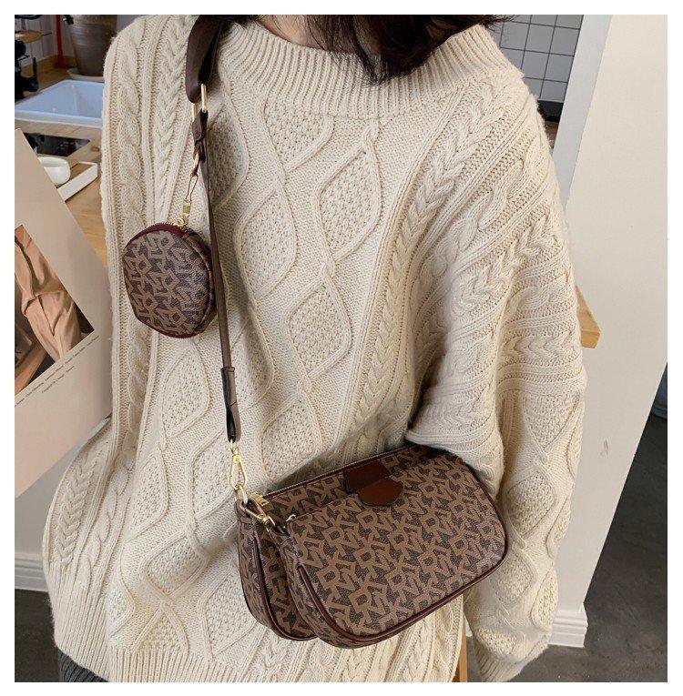 Розовый sugao дизайнер роскошные сумки кошелек сумка женщины кроссбоди сумка 3pcs/set высокое качество 2020 новый стиль роскошный кошелек 7339044