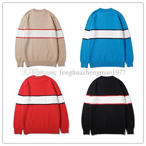 최신 국제 명예 스웨터 고품질 순수 캐시미어 편지 스웨터 부티크 코트 패션 여성 캐시미어 스웨터