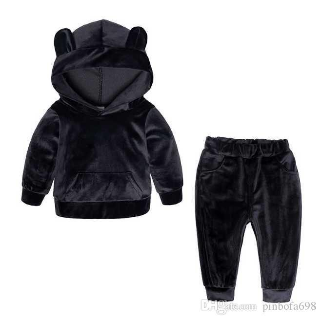 Çocuklar için çocuk erkek rahat eşofman Bebek kıyafetler çocuk giyim setleri çocuk spor takım elbise, bebek çocuk spor takım elbise