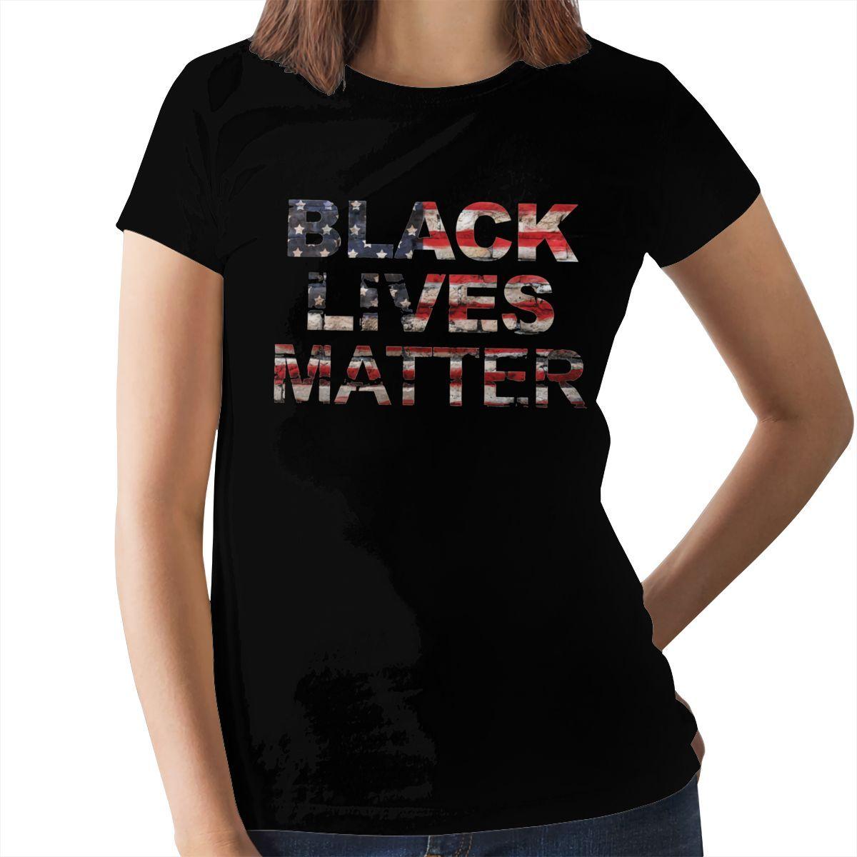 I Can't Breathe T-Shirt RIP George Floyd Say His Name T Shirt XXL Print Women tshirt O Neck Ladies Tee Shirt