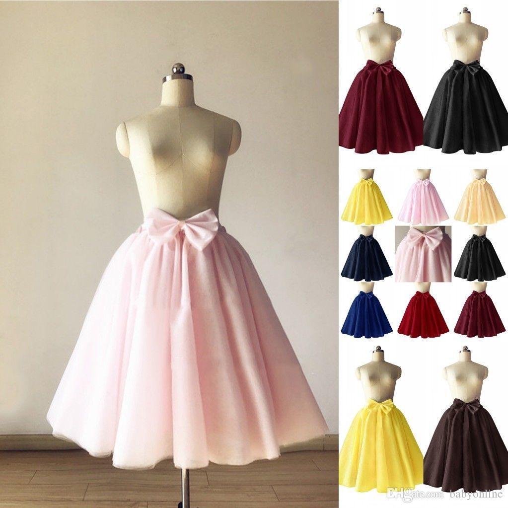 Short Tulle Petticoat Crinoline Vintage Wedding Bridal for Dresses Underskirt Rockabilly Tutu
