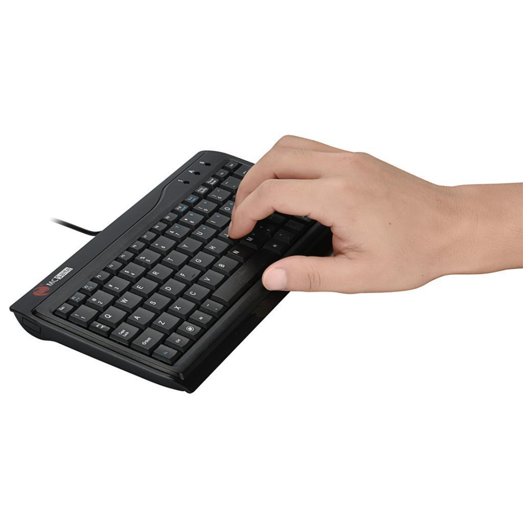 Kablolu USB Klavye İş Klavye Bilgisayar Klavye, QWERTY, İngilizce Düzen, Siyah