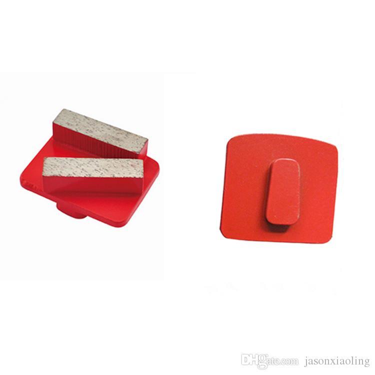 Redi Lock Diamond Grinding Shoes Quick Change Husqvarna Concrete Grinding Disc Floor Polishing Pads for Husqvarna Grinder 12PCS