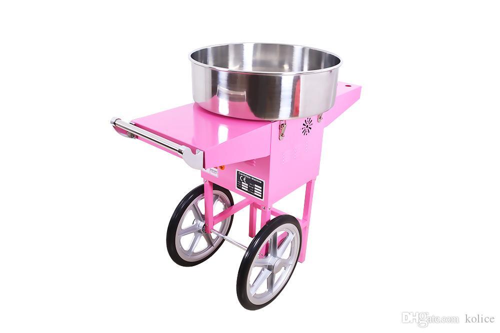 Ticari ETL CE 20.5 inç pamuk şeker ipi makinesi arabaları, şeker ipi makinesi arabası, pamuk şeker makinesi, şeker ipi yapma sepeti