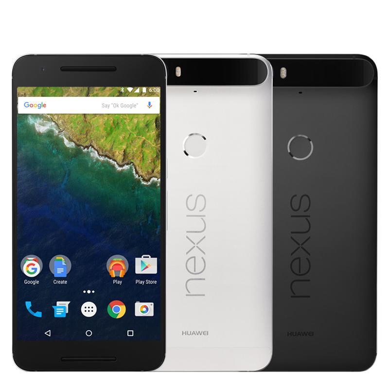 Original Huawei Nexus 6P 4G LTE Cell Phone 3GB RAM 32GB 64GB ROM Snapdragon 810 Octa Core Android 5.7 inch 12MP Fingerprint ID Mobile Phone