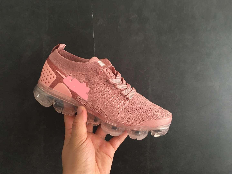 20 новый подушка дизайнер 2018 2.0 вязаная обувь FLY Спорт на открытом воздухе кроссовки мужчины женщины мода шок бег трусцой ходьба кроссовки 5.5-11