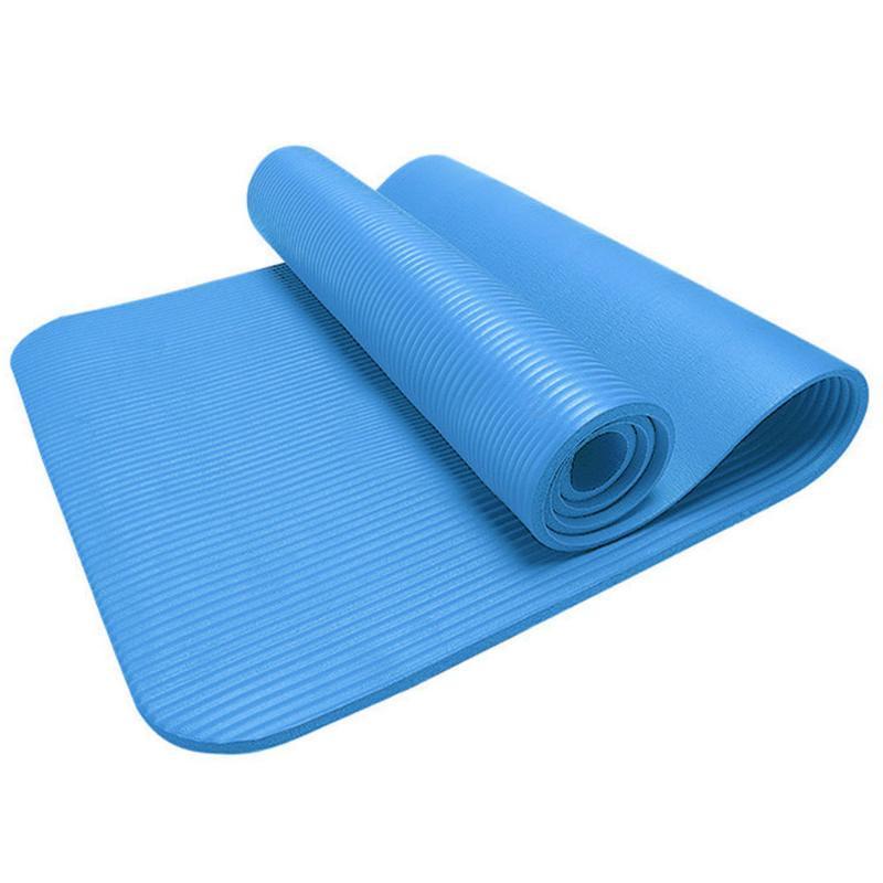 15mm yoga Colchoneta de ejercicio gruesa almohadilla antideslizante plegable Gym Fitness Mat al aire libre Entrenamiento cubierta Gimnasio aptitud del ejercicio de la alfombra