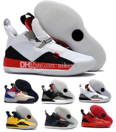 Männer 33 Basketball-Schuh-Turnschuhe Chinese New Year-Future Flight Tech Pack Schuhe Yeelow Jumpman 33s XXXIII SE 2020 Chaussure Baskets Schuhe