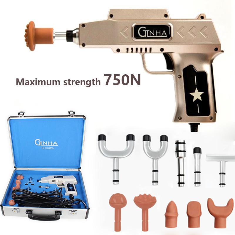 6 уровней 10 головок Регулируемый электрический пистолет для коррекции костей Активатор для позвоночника Шейный массажер S19812