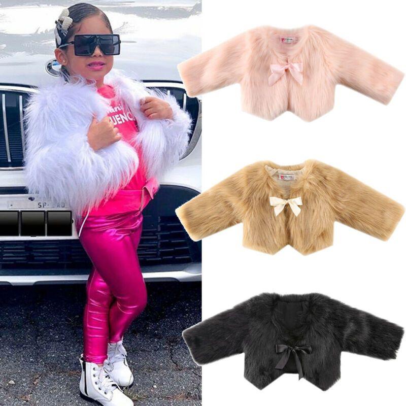 Girls Super Soft Faux Fur Candy Pink Bodywarmer Gilet Jacket RRP £20