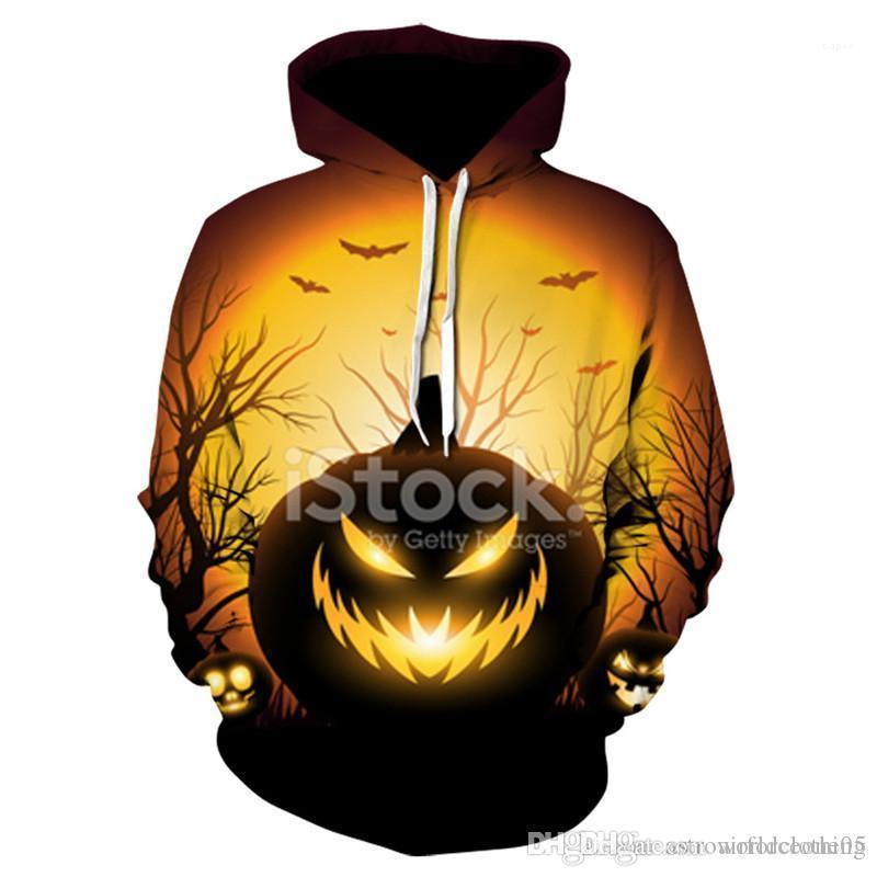 Frühlings-Herren Pullover mit Kapuze Sweatshirts Männer Bekleidung Halloween Herren Designer Hoodies Langarm