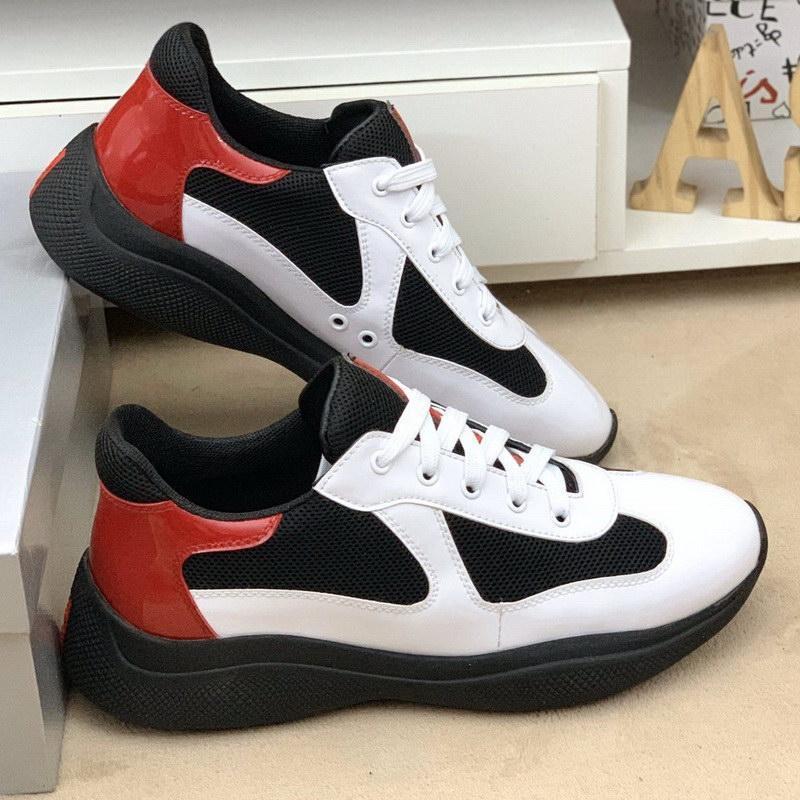 Boş 39-44 Mesh Ayakkabı ile Man Deri İçin İtalyanca Yeni Geliş Mens Beyaz Casual Konfor Ayakkabı Yüksek Kalite Karışık Renk Atletik Ayakkabı