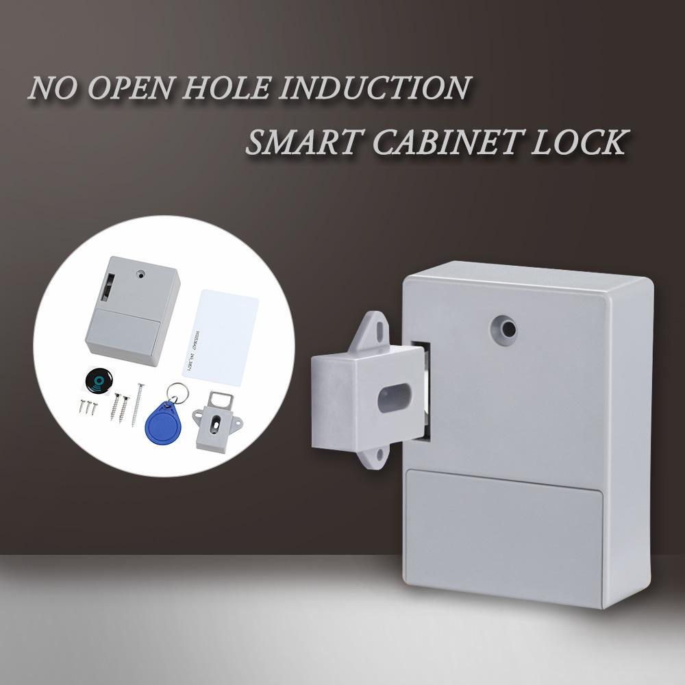 Grosshandel Mini Invisible Rfid Electronic Cabinet Locker 125 Khz