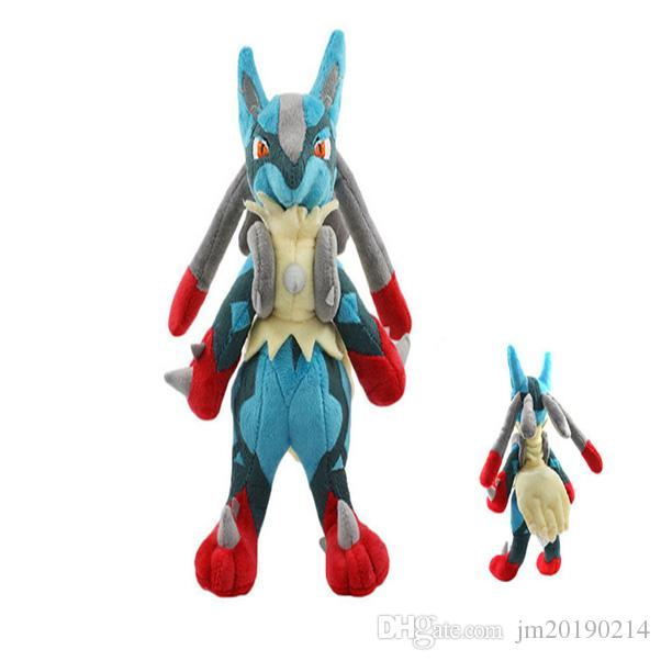 Hot ! New Toy Lucario Soft Doll Plush Toy For Kids Christmas Halloween Best Gifts 10.2inch 26cm