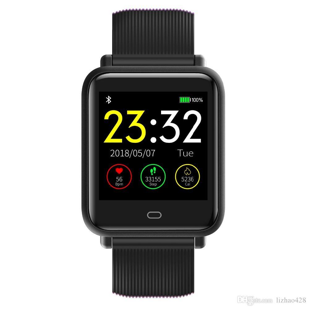 Smart Watch Blood Pressure Heart Rate Sleep Monitor Bracelet IP67 Waterproof Sport Fitness Trakcer Watch Men Women Smartwatch