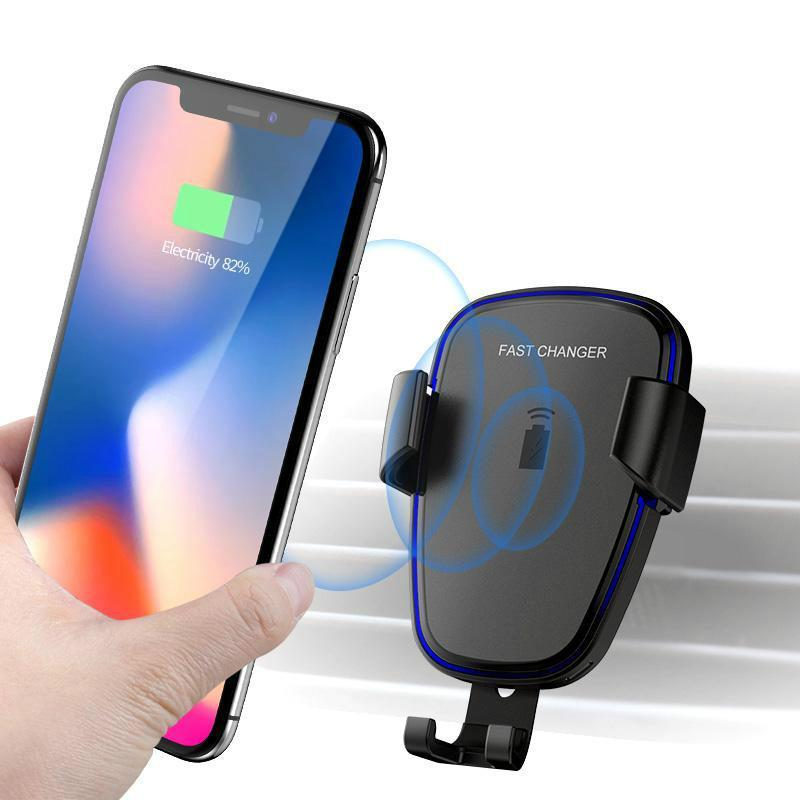 Car Holder Qi Wireless Charger Fast Charger Mobile Phone Wireless Charger For Samsung S6 Note 8 Galaxy S7 Edge Mobile Charging Pad