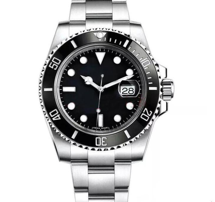 2020 Top Luxuxmänner Uhr Designer-Uhr-mechanisches Automatikwerk Geschäft Edelstahl-Uhr-Männer Kalender Uhren