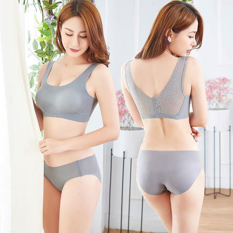 Wholesale-Nuovo articolo Premier Solid Lace parte posteriore di bellezza Sport Seemless reggiseno Giappone Free Mind maglia di stile della biancheria intima