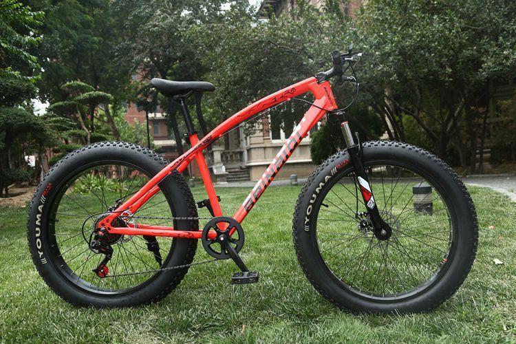 26 pouces motoneige 4.0 pneu large Pédale vélo Promotion Téméraire VTT Vélo