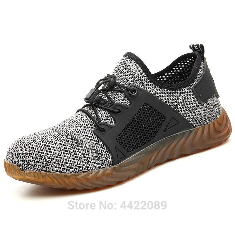 Les nouveaux hommes et femmes Indestructible Ryder Chaussures Steel Toe Air sécurité Bottes INCREVABLE travail Chaussures de sport Chaussures respirantes