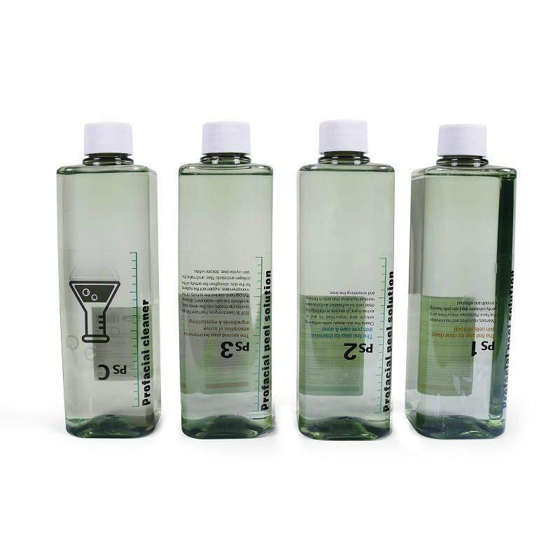 VENDA IMPERDÍVEL !!! Hydra 4 Bottle Facial Pele Soro Para água dermoabrasão limpeza Máquina do Aqua Peeling Solution por garrafa do Aqua Facial Serum CE