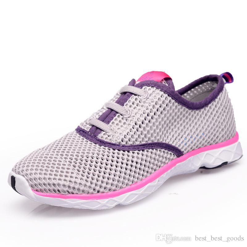 Café verano transpirable hombres zapatos casuales cojín ligero zapatos para caminar zapatos de agua al aire libre tamaño grande 14 zapatillas mujer sapato