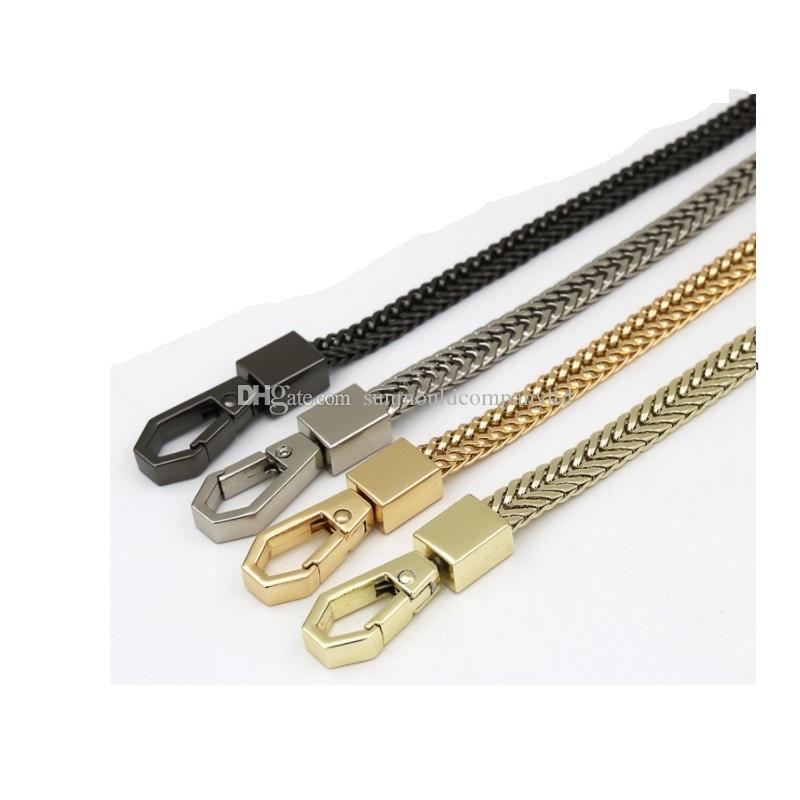 NUOVA lunghezza 120 centimetri di alta qualità Cinghia di cinghia Cinture donna Borsa di ricambio Borsa catena di borsa Cinghie di metallo Accessori Hardware maniglia