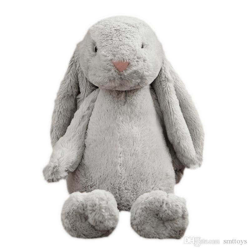 Pascua conejito al por mayor de juguetes de peluche conejo de peluche juguetes de peluche Animales Peluches regalos oído mucho en Venta 30cm 40cm 50cm 2020