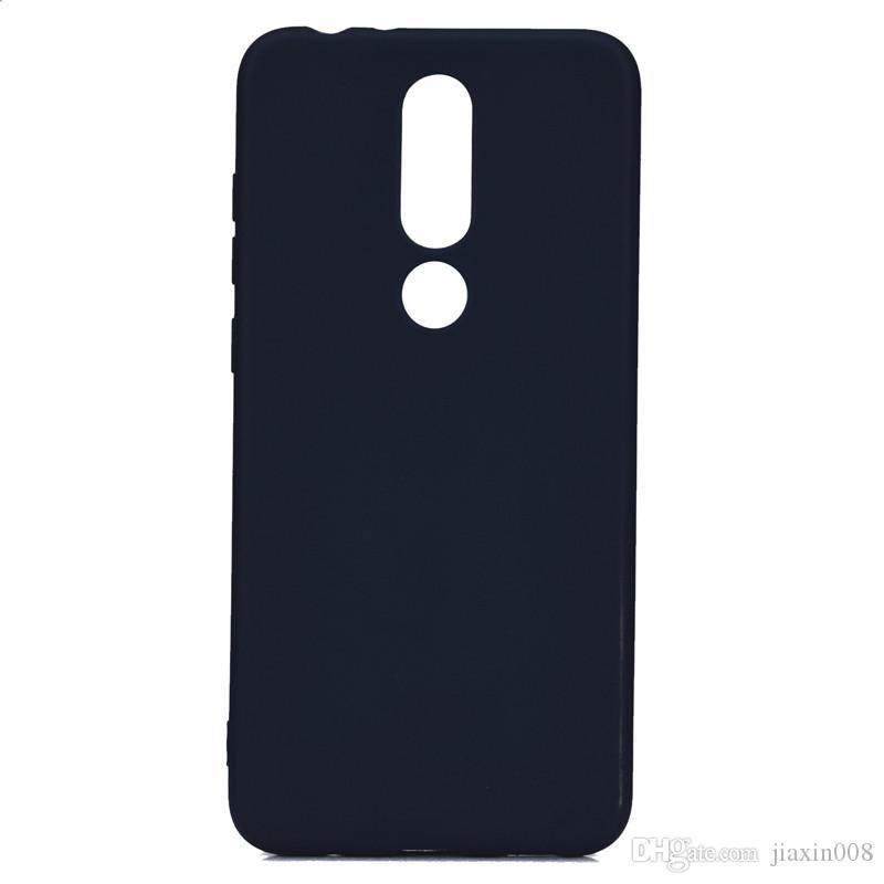 Şeker Renk Kapak Nokia6.1 Artı Vaka Yumuşak TPU Ultrathin Tasarımcı Mobie Telefon Kılıfları Nokia 6.1 Için Artı
