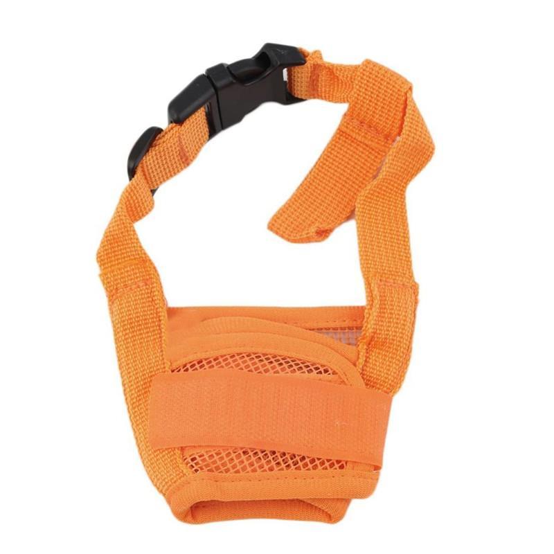 씹는 개 마스크를 물어 뜯는 개 애완 동물 입 바운드 장치 안전 조절 통기성 총구를 중지 물고 짖는