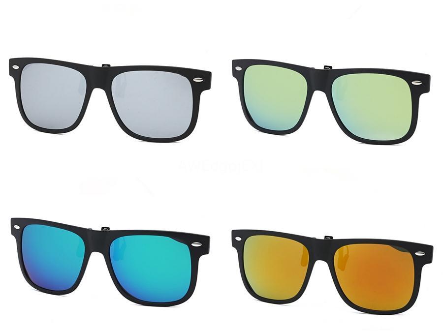 도매-2020 남녀의 HD 노란색 렌즈 구글 TR90 Sunglasee 나이트 비전 고글 자동차 운전 드라이버 안경 안경 UV 차단 # 42186