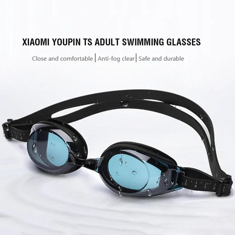 الأصل XIAOMI Youpin TS نظارات السباحة نظارات توروك شتاينهاردت العلامة التجارية المضادة للضباب طلاء مقاوم للماء نظارات السباحة CYX-C7 3000310