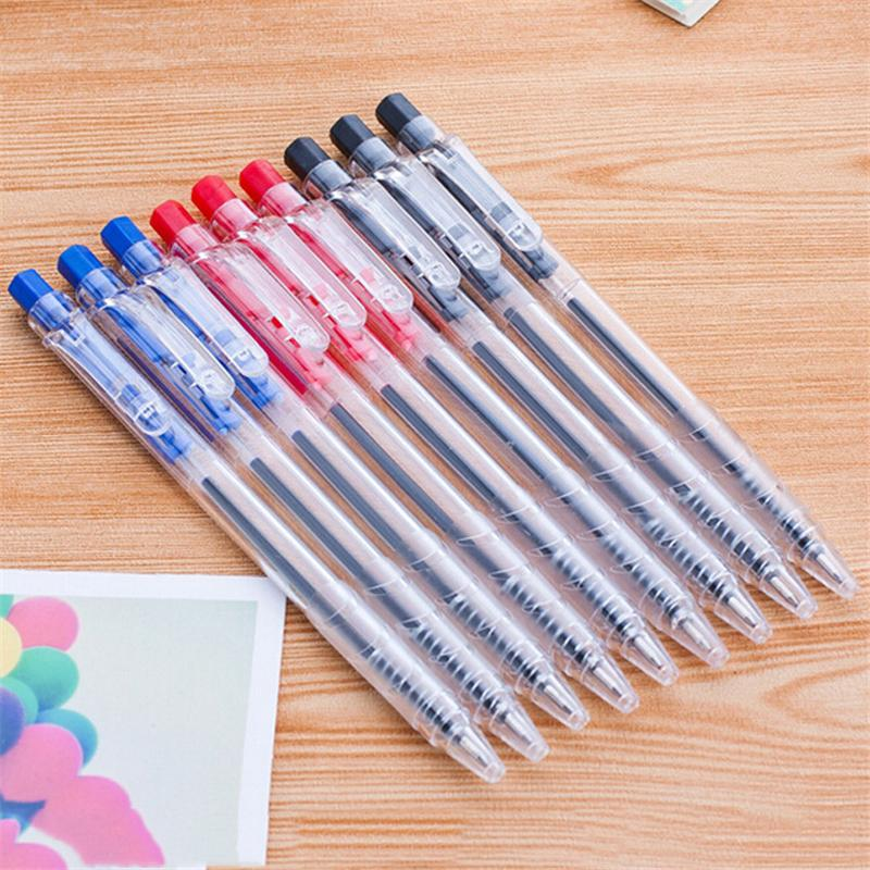 Fábrica de cortes directos tipo simple de prensa bolígrafo premio 0.7mm al por mayor para los estudiantes equipos de oficina exquisito pequeño regalo