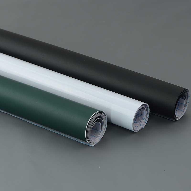 Pared creativa DIY Chalk Junta Negro Blanco Verde de la pizarra de PVC etiqueta engomada para niños dibujar Estudio del arte en papel pintado FP8