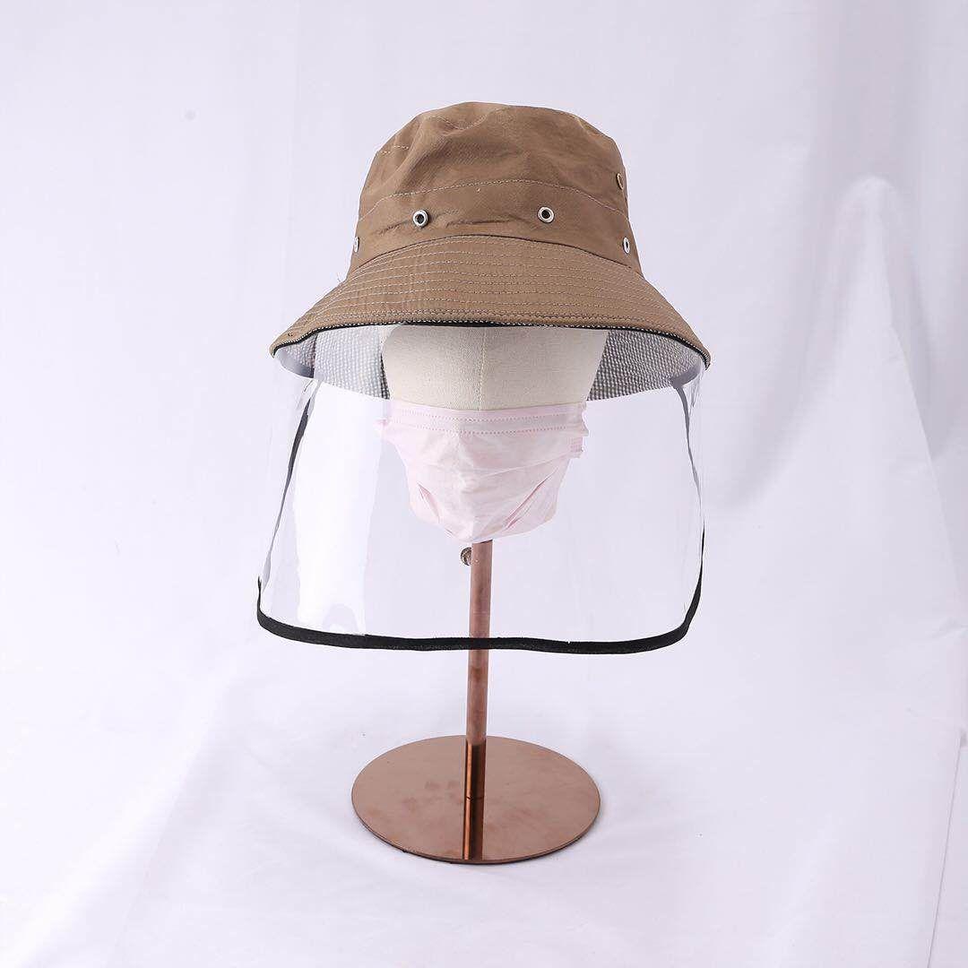 Adulte Pêche masque Chapeau avec un écran transparent Bouclier Masque Anti-yeux crachant le visage de protection Chapeau antipoussière chapeau de couverture pour les adultes Enfants