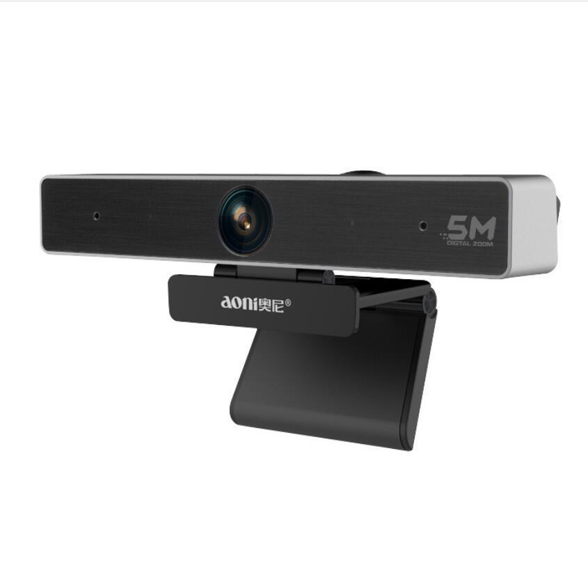 Aoni C98 4K HD 1080P Веб-камера для видеоконференций потоковой записи 5X цифровой зум веб-камера Обучение Обучения веб-камера C90 C95