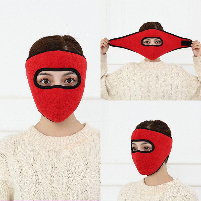Brand Design марлевых маски Hot Style Ear маска Велоспорт Anti-холодная дышащая высокого качество зима ватка теплого и Утолщенные Два в одном Маске
