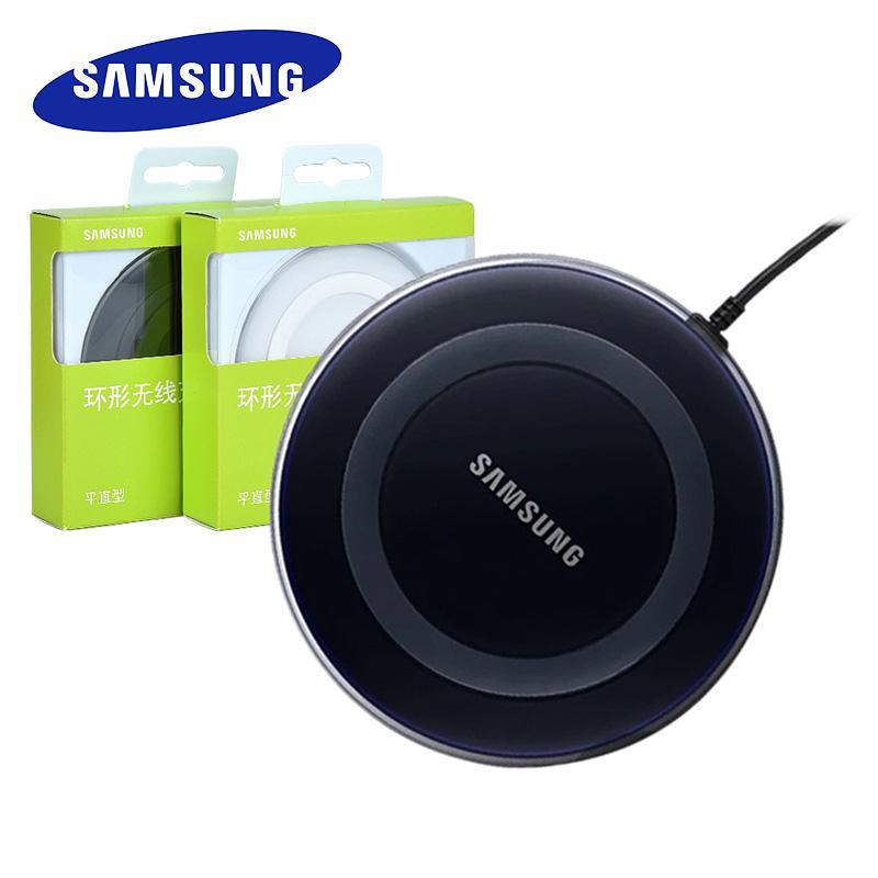 5V / 2A QI Wireless-Ladegerät-Adapter-Gebühr Auflage für Galaxy S6 S7 Edge-S10 S9 Plus-Note 5 für iphone 8 plus X XS XR MAX