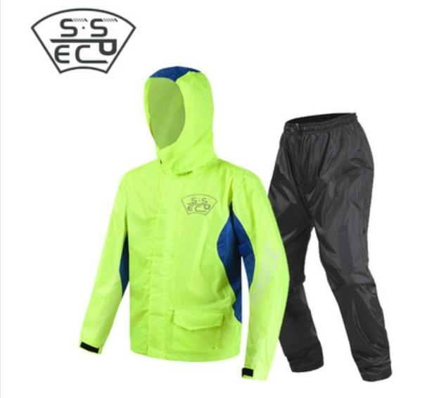 SSPEC motorcycle riding raincoat rain pants suit adult split outdoor breathable rainproof SCJ-6005
