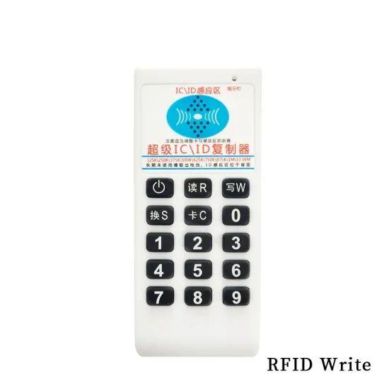 Palmare all'ingrosso della fabbrica 125KHZ-13,56 MHz 9 Duplicatore RFID FREQUECNY / Scrittore della copiatrice