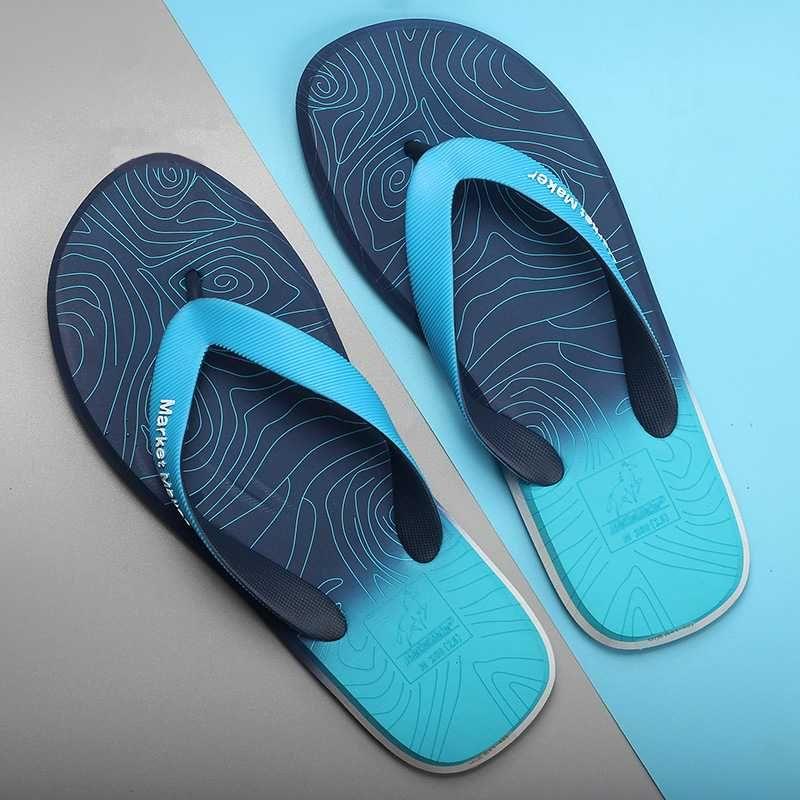 Brand Summer Shoes Men Flip Flops High Quality Beach Sandals Anti-slip Zapatos Hombre Casual Shoes Summer Slides Men Slippers