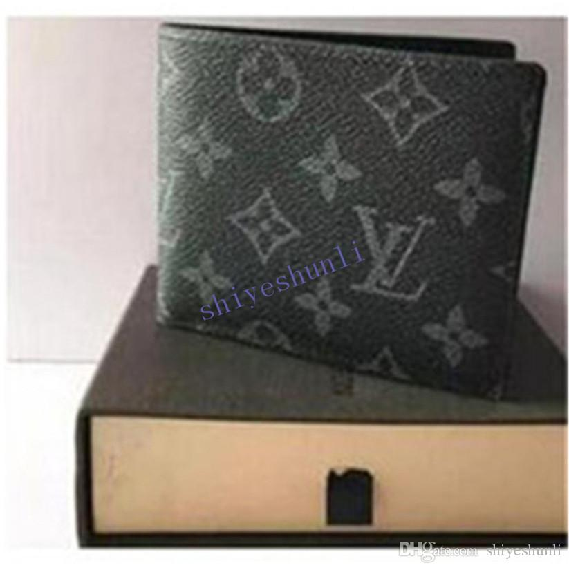 A07 2020 Male luxury wallet Casual Short designer Card holder pocket Fashion Purse wallets for men wallets free shipping NO BOX