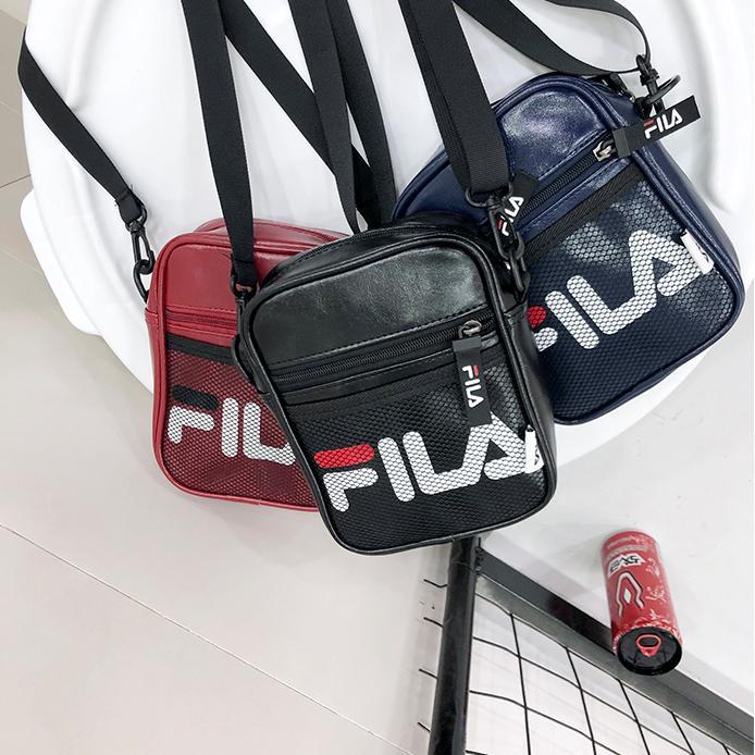 Fila Messenger Bag For Men /& Women Sport Casual Shoulder Bag Crossbody Backpack