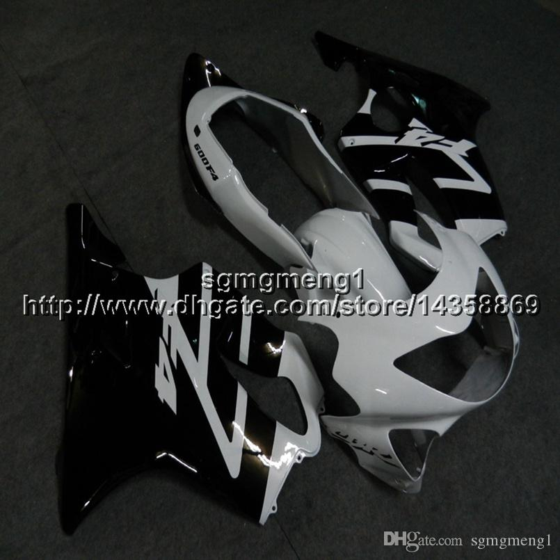 23colors+Botls Injection mold black white motorcycle cowl For Honda 00 CBR600F4 1999-2000 F4 99 00 ABS motor Fairing kit